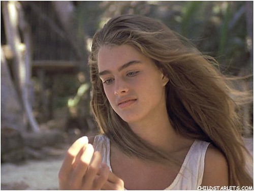 "brooke shields fondo de pantalla containing a portrait titled ""The Blue Lagoon"" - 1980"