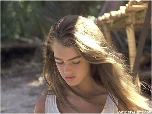 """Brooke Shields wallpaper containing a portrait entitled """"The Blue Lagoon"""" - 1980"""