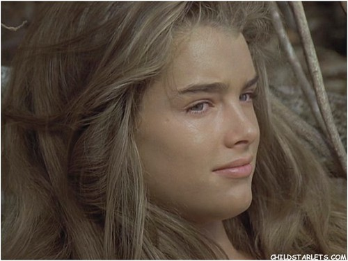"brooke shields wallpaper containing a portrait titled ""The Blue Lagoon"" - 1980"