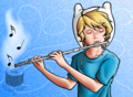 .: The Flutist :. - adventure-time-with-finn-and-jake photo