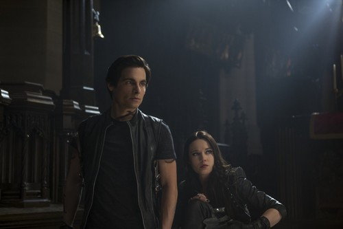 """The Mortal Instruments: City of Bones"" Alec and Isabelle still"