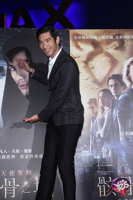 """The Mortal Instruments: City of bones"" Taiwan premiere -"