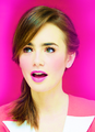 ♡ - lily-collins fan art