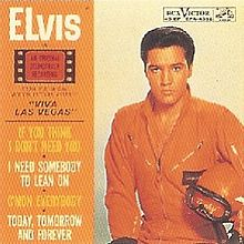"1964 RCA Movie Soundtrack, ""Viva, Las Vegas"""