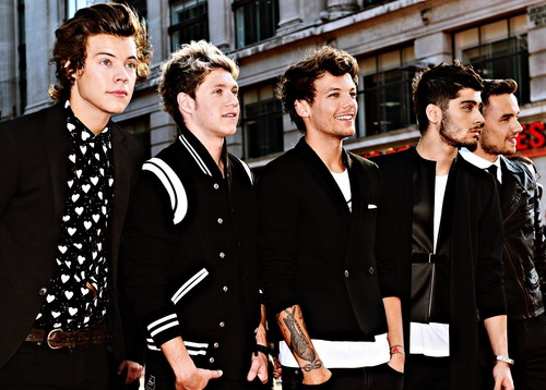 one direction fondo de pantalla with a business suit titled 1D