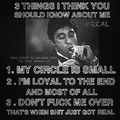 3 things - scarface photo