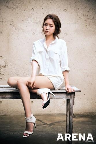 A Pink's Naeun for 'Arena Homme+'
