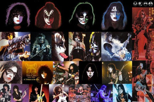 KISS پیپر وال called ALL OFFICIAL BAND MEMBERS