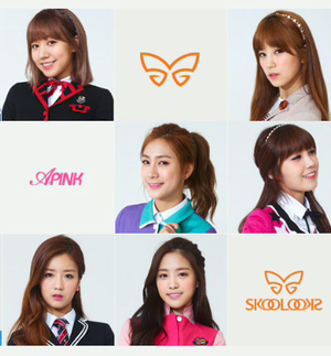 APink skool looks 2013