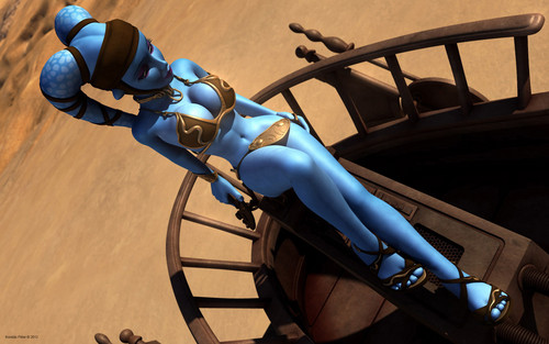guerra nas estrelas wallpaper called Aayla Secura