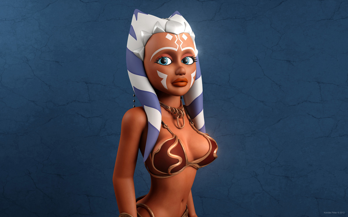 Image porno ahsoka tano anime photo