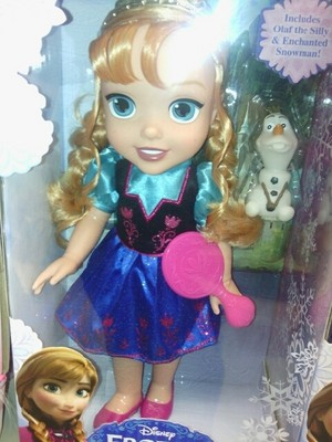Anna Toddler Doll
