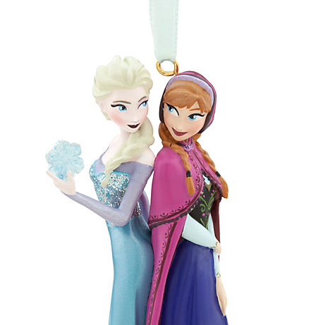 Anna and Elsa Ornament - ফ্রোজেন from ডিজনি Store