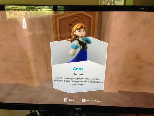 Princess Anna wallpaper called Anna in disney Infinity