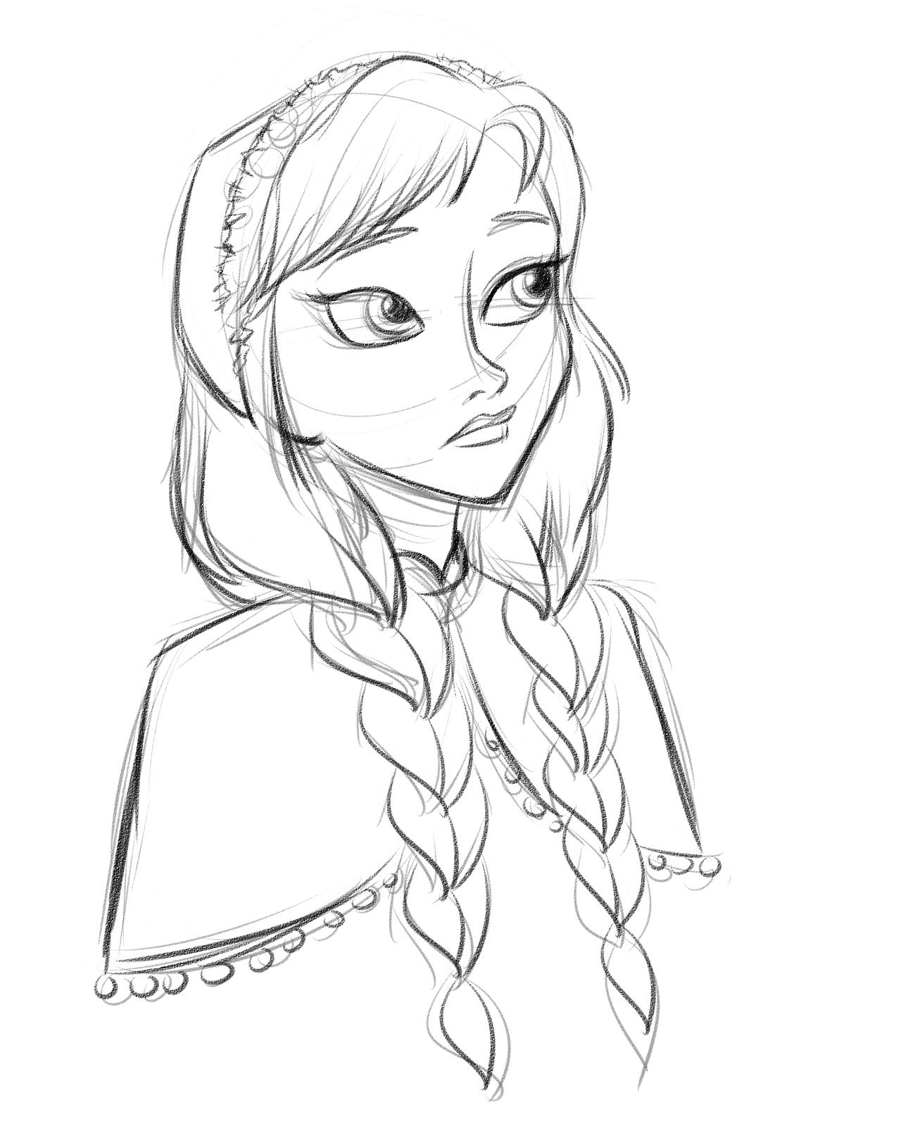 Anna - Princess Anna Fan Art (35355807) - Fanpop