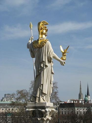 ग्रीक पौराणिक कथाओं वॉलपेपर called Athena