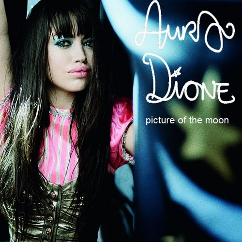 Aura Dione Fanclub karatasi la kupamba ukuta possibly with a portrait entitled Aura Dione - Picture Of The Moon