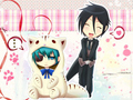 Aww.... - black-butler photo