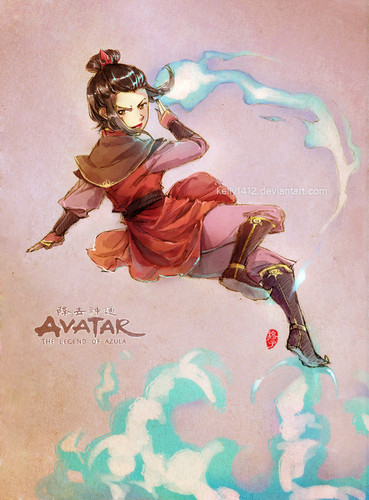 Azula is ready to fight