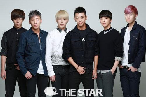 B.A.P for The nyota Korea