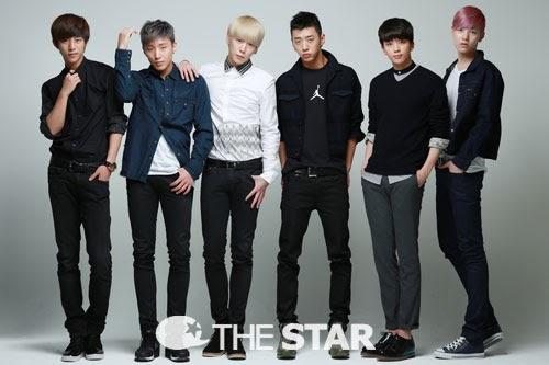 B.A.P for The Star Korea