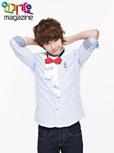 BOYFRIEND for Inkigayo Magazine