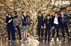 BTS for 'Arena' magazine