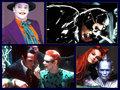Batman Villains collage - movies fan art