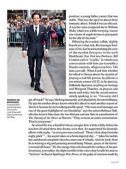 Benedict Cumberbatch - Vogue 2013