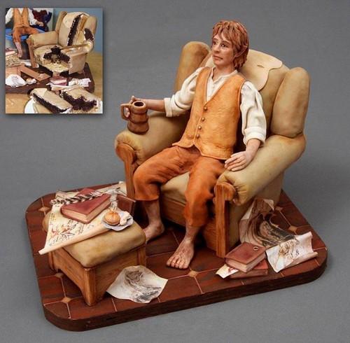Bilbo kwa Hobbit Cake Challenge Winner, Marianne
