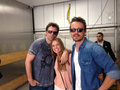 Billy, Tracy, & David - Comic Con 2013
