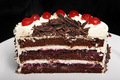 Black Forest Cake - black photo