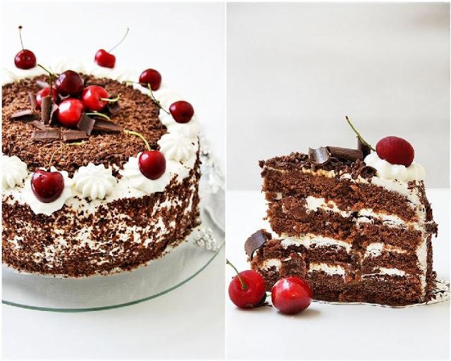 Black Forest Cake - Black Photo (35339292) - Fanpop