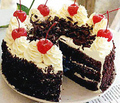 Black Forest Cake  - colors photo