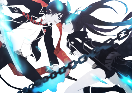 Black Rock Shooter & Rin