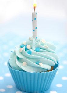 Blue Cupcake Images : Blue Cupcake - Colors Photo (35335994) - Fanpop