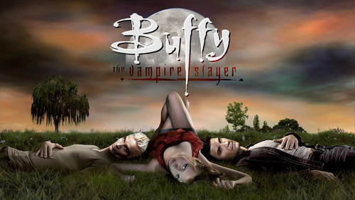 Buffy the Vampire Slayer wallpaper probably with a wind turbine called Buffy Vampire Diaries V3 1080p Wallpaper HQ