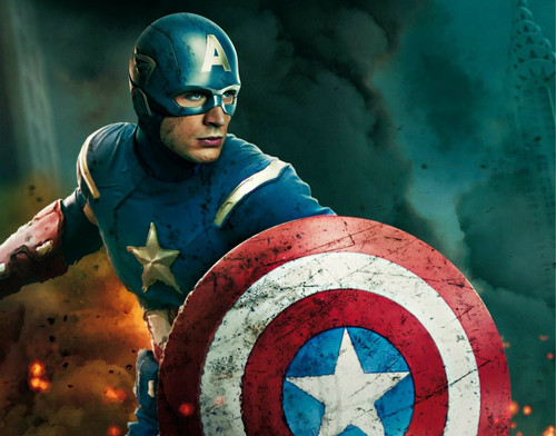The Avengers wallpaper containing a shield called CAPTAIN AMERICA
