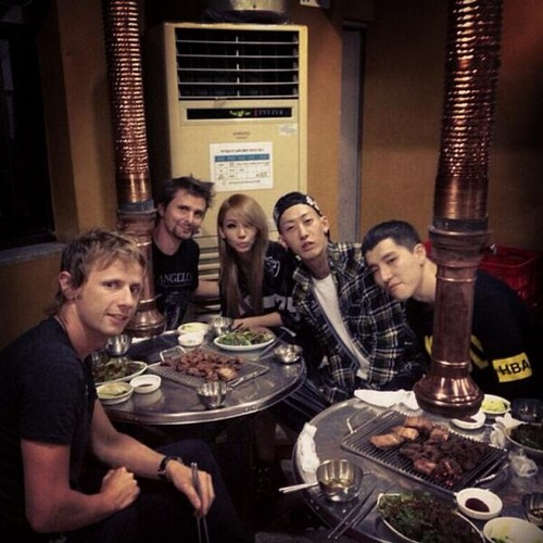 "CLs Instagram Update: ""#themeatsweats#koreanbbq#muse"""