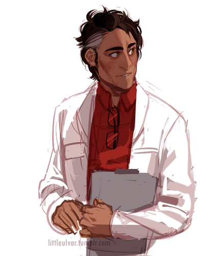 Welcome to Night Vale wallpaper entitled Carlos, the beautiful scientist