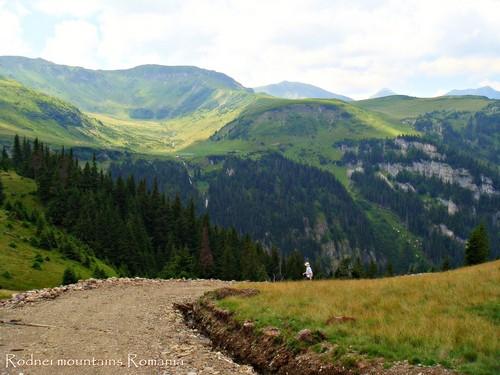 Carpathian mountains Romania eastern Europe