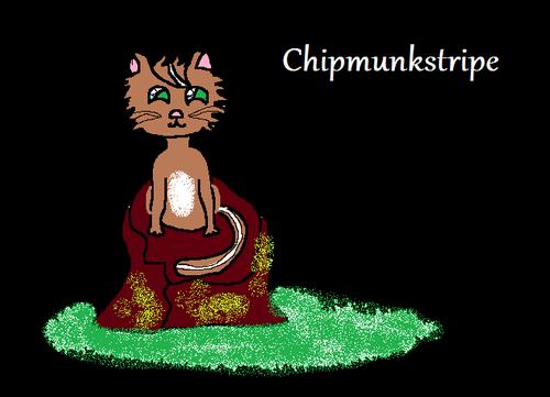 World of Warriors wallpaper entitled Chipmunkstripe