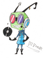DJDarike - invader-zim-fancharacters fan art