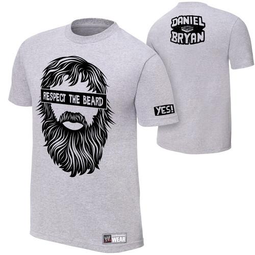 """Daniel Bryan """"respect The Beard"""" t-shirt wwegifts.com"""