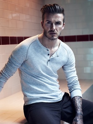 David Beckham gets shirtless for H&M Bodywear campaign