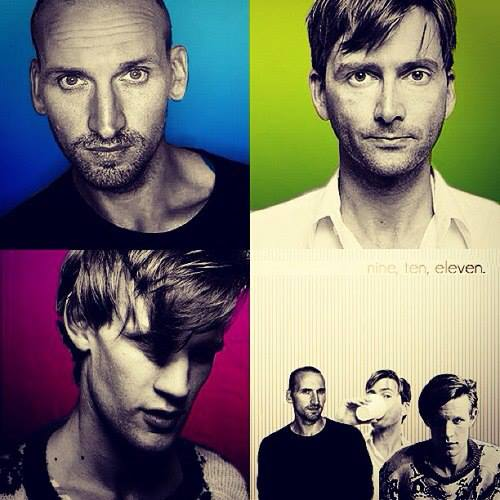 David Tennant/Matt Smith/Christopher Eccleston