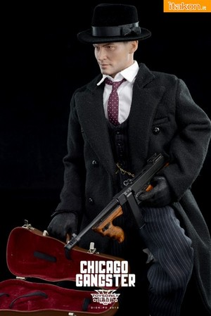 Depp as John Dillinger - Toy