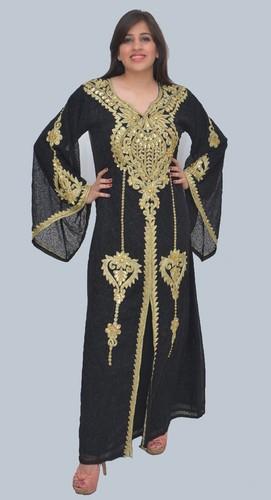 Designer Black Color Exclusive Party Wear Farasha