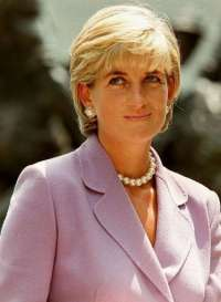 Princess Diana achtergrond with a portrait called Diana