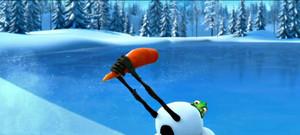 ディズニー characters invasion in アナと雪の女王